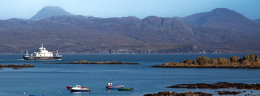 The Mallaig to Armadale Ferry